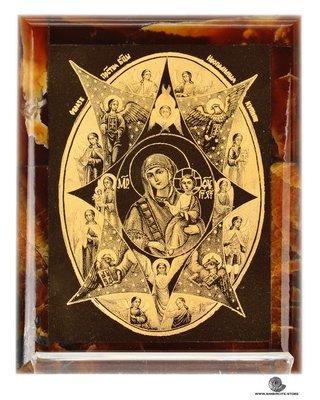 Симбирцитовая икона Богородицы Неопалимая Купина