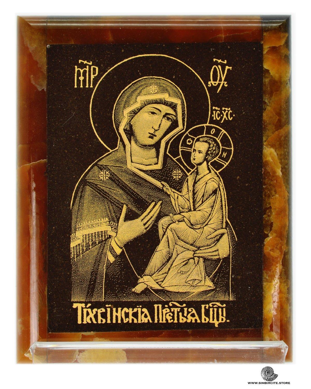 Симбирцитовая икона Пресвятой Богородицы Тихвинская