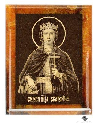 Симбирцитовая икона Святая Екатетерина Александрийская
