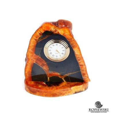 Часы срез симбирцита 11 x 11 cm