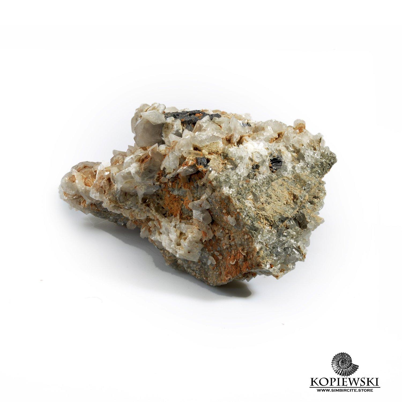 Минерал Галенит-Кальцит
