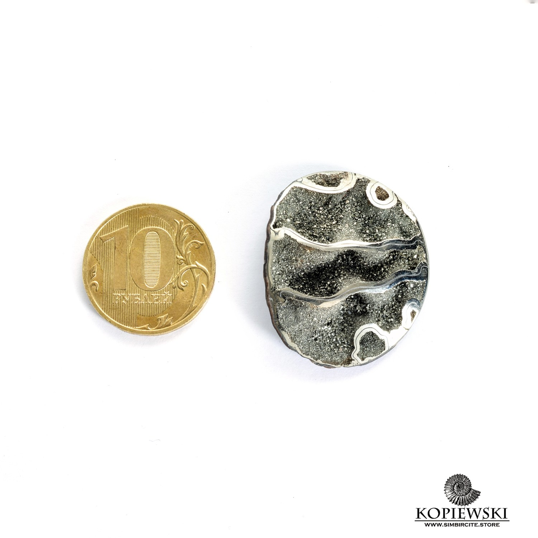 Аммонитовая жеода 33*27*5 мм