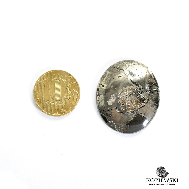 Аммонитовая жеода 35*30*5 мм