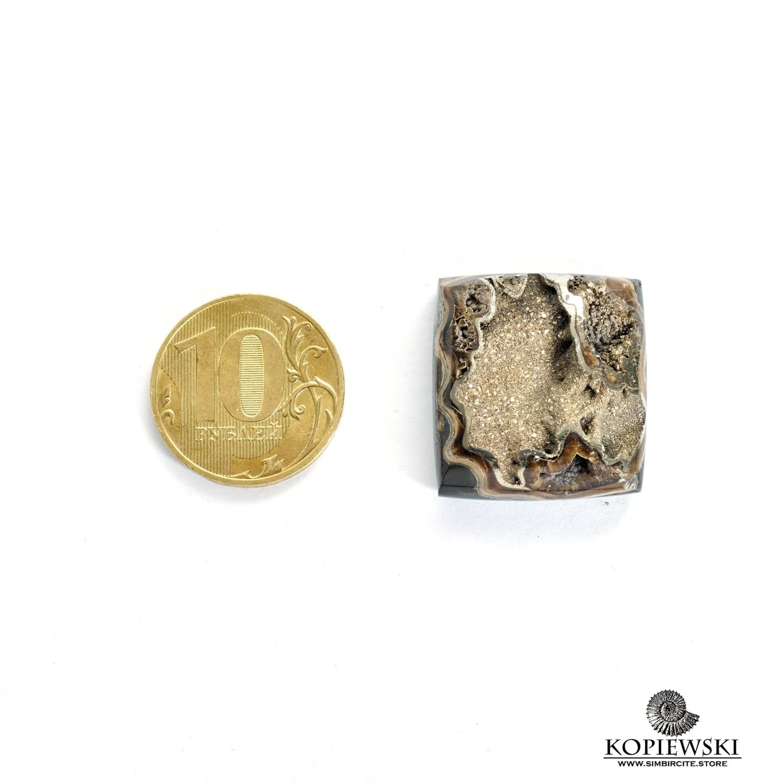Аммонитовая жеода 25*25*5 мм