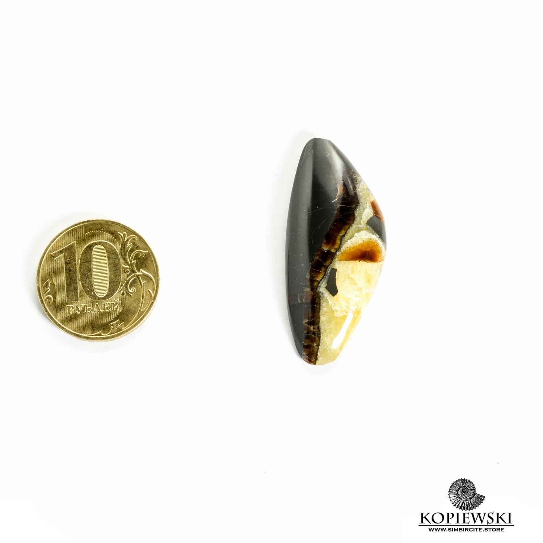 Симбирцитовый кабошон 40*20*3 мм