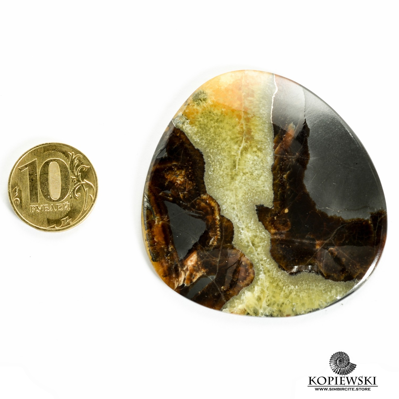 Симбирцитовый кабошон 60*60*3 мм