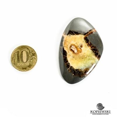 Симбирцитовый кабошон 55*35*3 мм