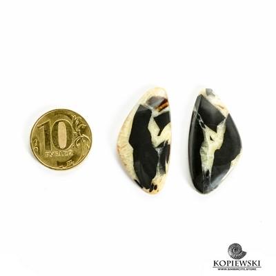 Парные кабошоны Симбирцит 40*20*3 мм