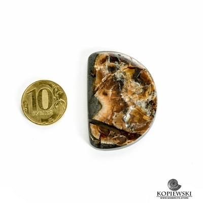 Симбирцитовый кабошон 45*35*3 мм