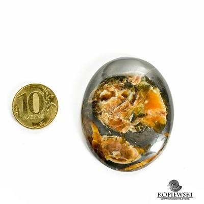 Симбирцитовый кабошон 55*45*3 мм