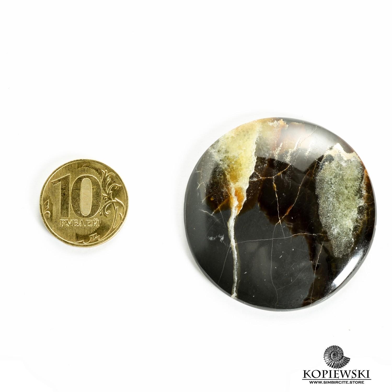 Симбирцитовый кабошон 45*45*3 мм