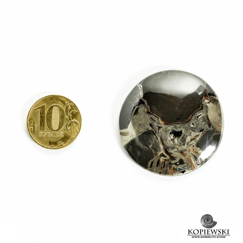 Аммонитовый симбирцит 40*40*3 мм