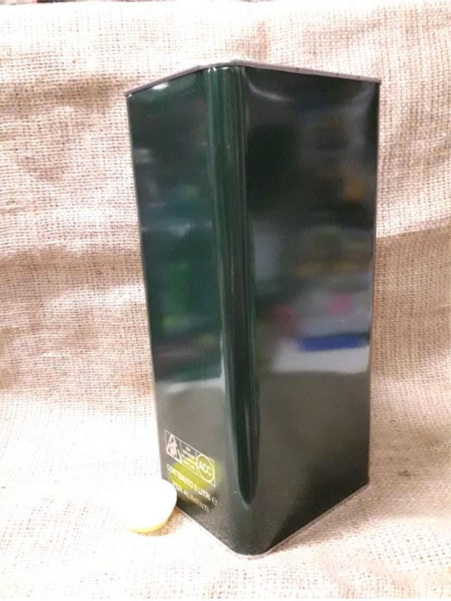 Lattina 5 lt. con tappo (confezione da 10 pz) 148x120x315h OL0005