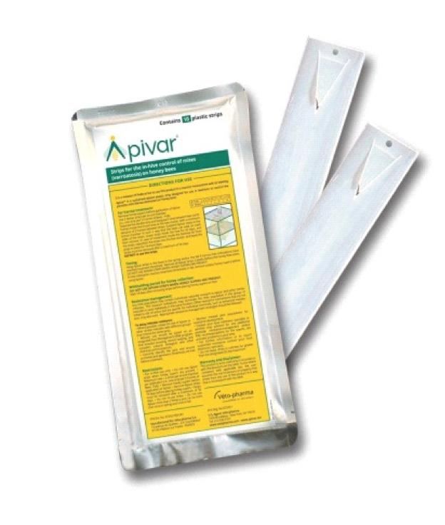 APIVAR - confezione da 10 strisce AP0013