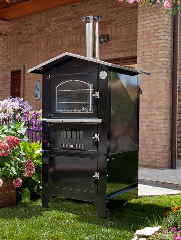 forno da esterno serie  JOLLY KJE 8048 -piano cottura: 80 x 48 h42 - Tranquilli Forni   SPEDIZIONE GRATUITA