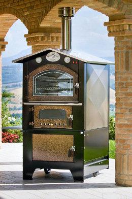 forno da esterno serie GIOVE KTM 8065 - piano cottura: 80 x 65 h44 - Tranquilli Forni CA0005