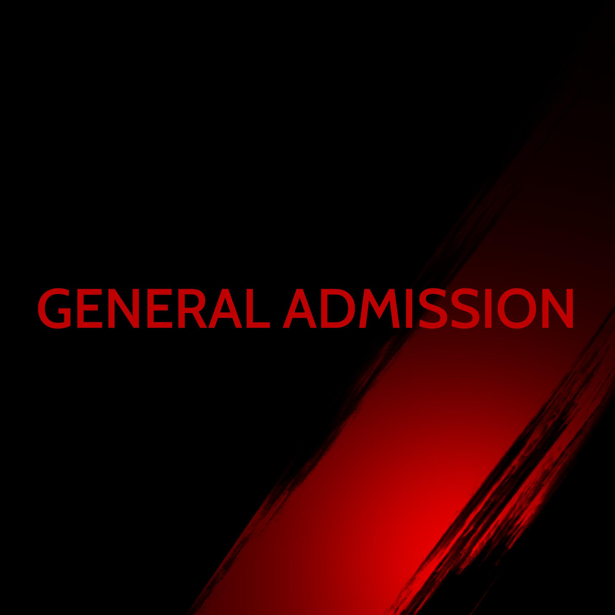 General Admission TAB-003