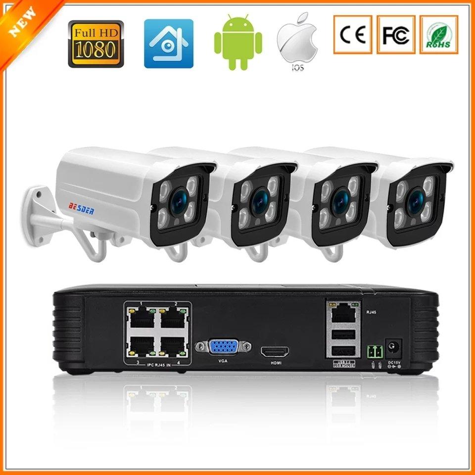 CCTV Full HD camera systeem met 4 cameras 00012