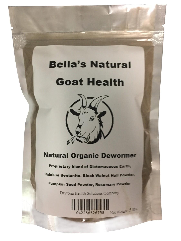 Bella's Natural Health Organic Dewormer .5 Pound / 8 oz