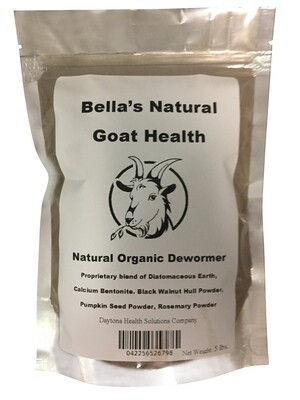 Bella's Natural Health Organic Dewormer .5 Pound / 8 oz
