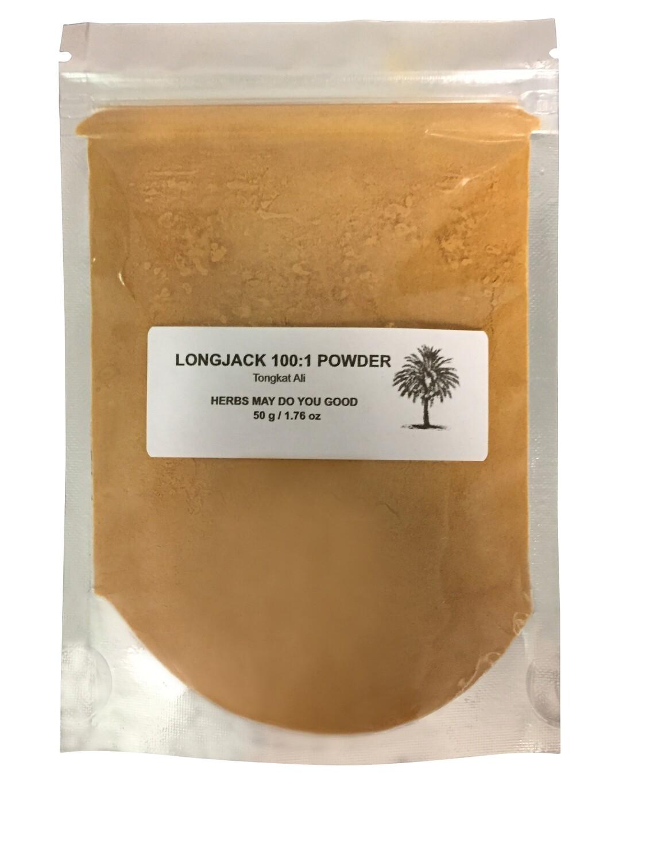 Longjack Tongkat Ali 100:1 Powder 50 g / 1.76 oz