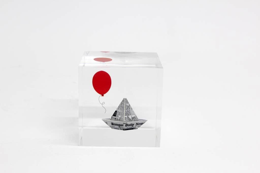 """""""Georgie's Boat"""" Limited Edition Paperweight"""