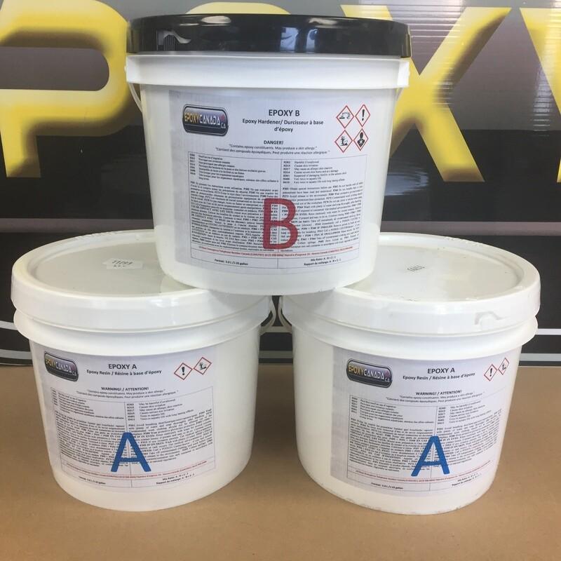 epoxy resin/résine époxydique 1 1/2 US GALLON (5,7L)