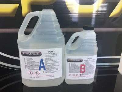 epoxy resin/résine époxydique 3/4 US gallon(2,85L)