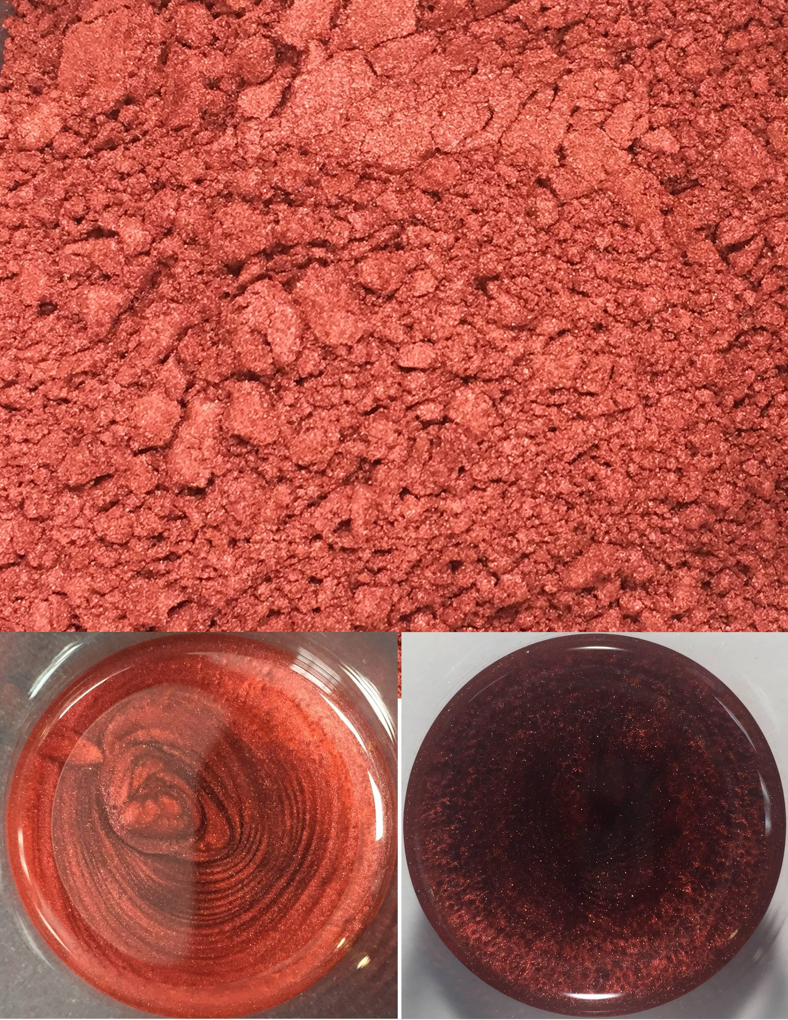 metallic pigments burnt orange/pigments métalliques orange brûlé 00014