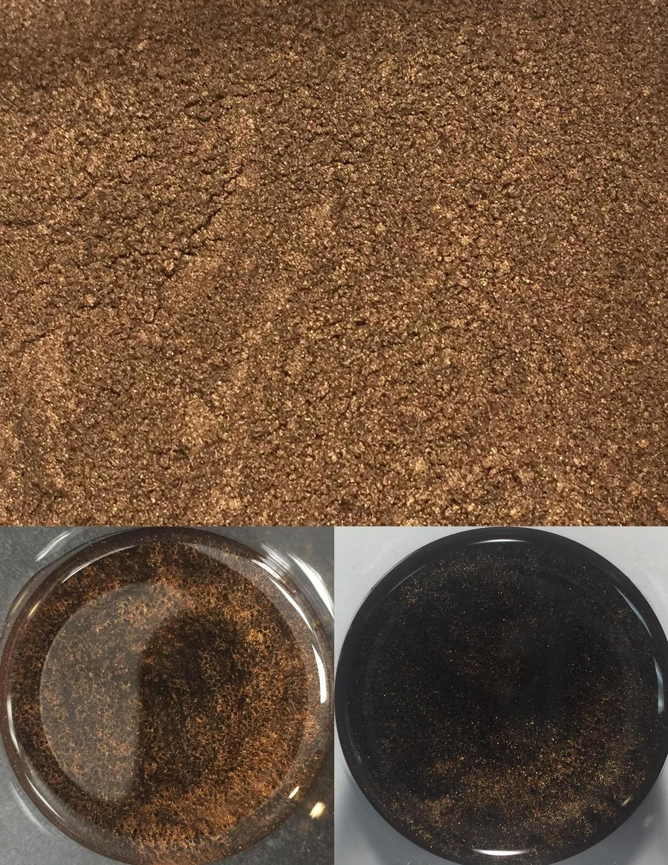 metallic pigments dark coffee/pigments métalliques café noir