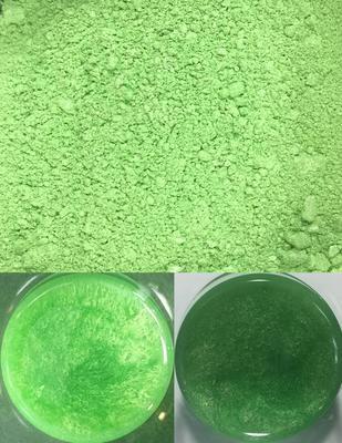 metallic pigments green/pigments métalliques vert