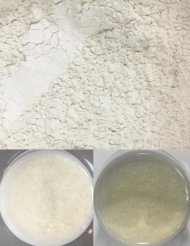 metallic pigments khaki/pigments métalliques kaki