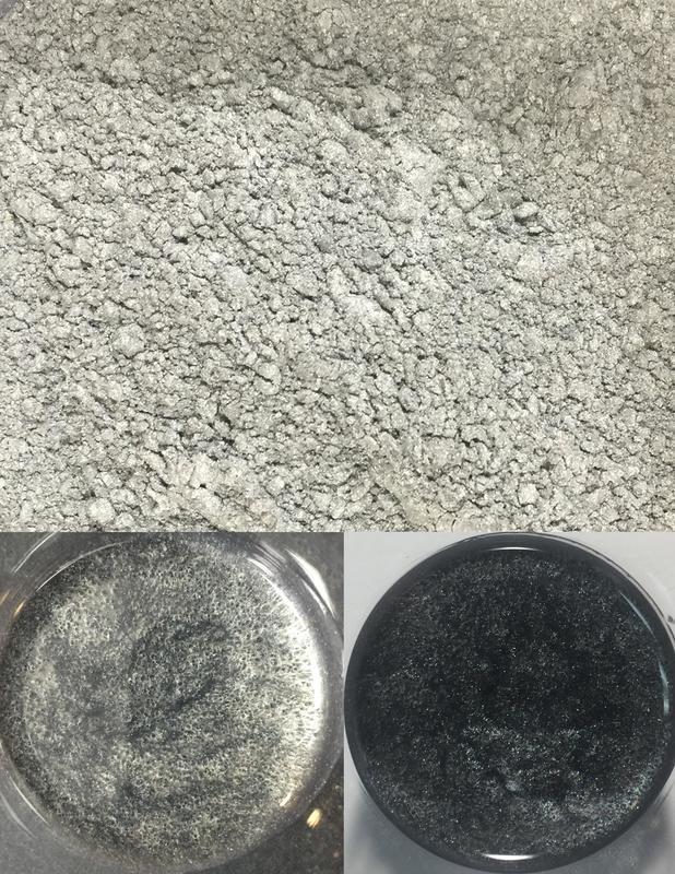 metallic pigments silver/pigments métalliques argent