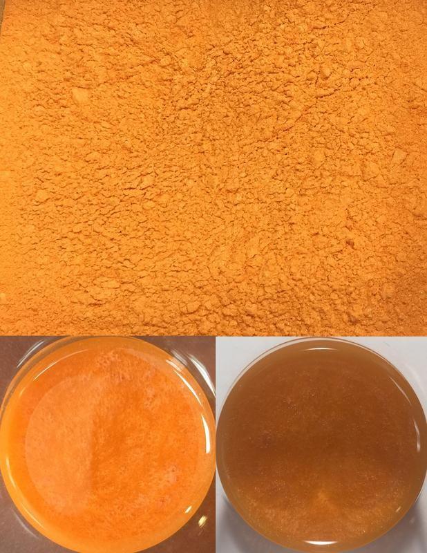 metallic pigments tangerine/pigments métalliques mandarine