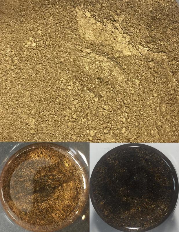 metallic pigments espresso/pigments métalliques expresso