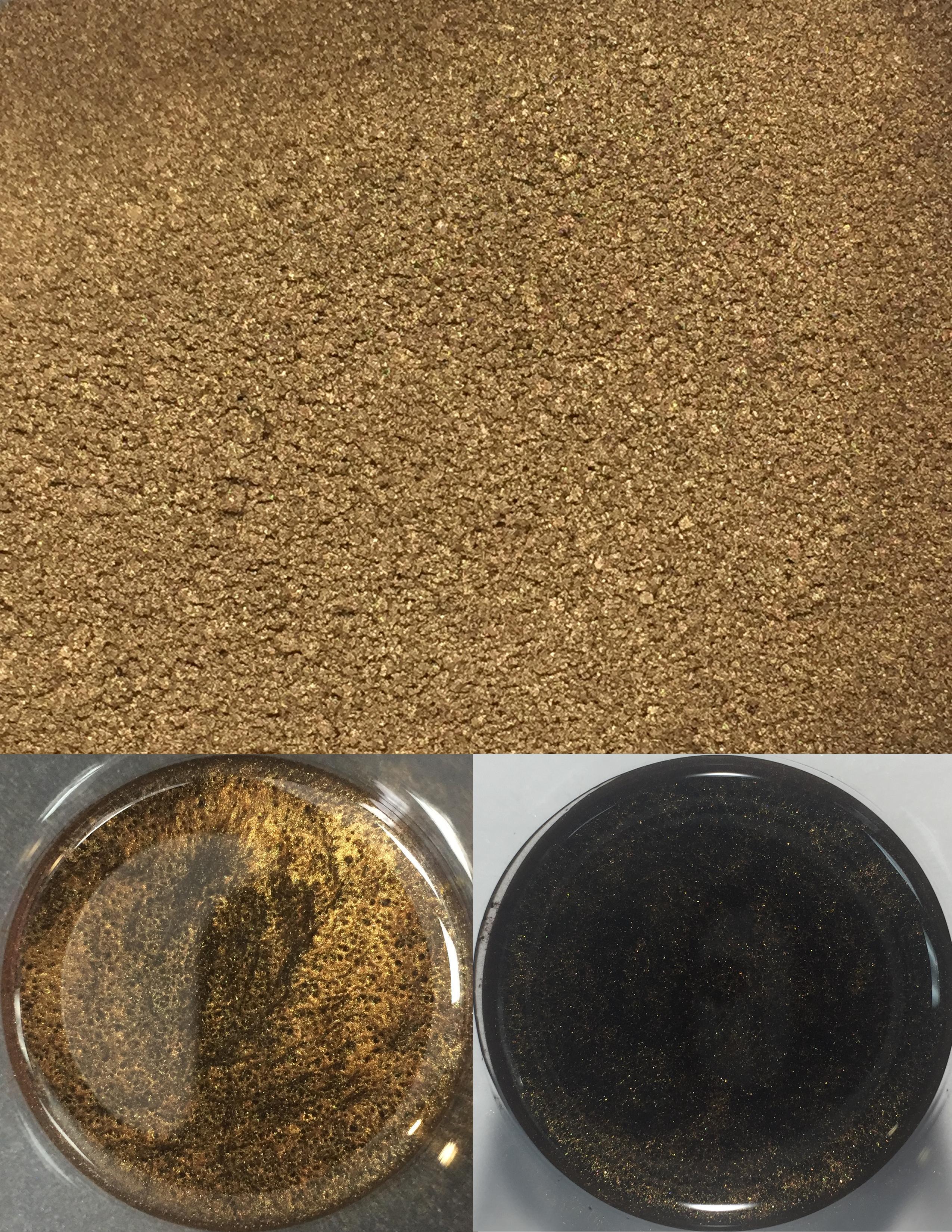 metallic pigments dark brown/pigments métalliques brun foncé 00016