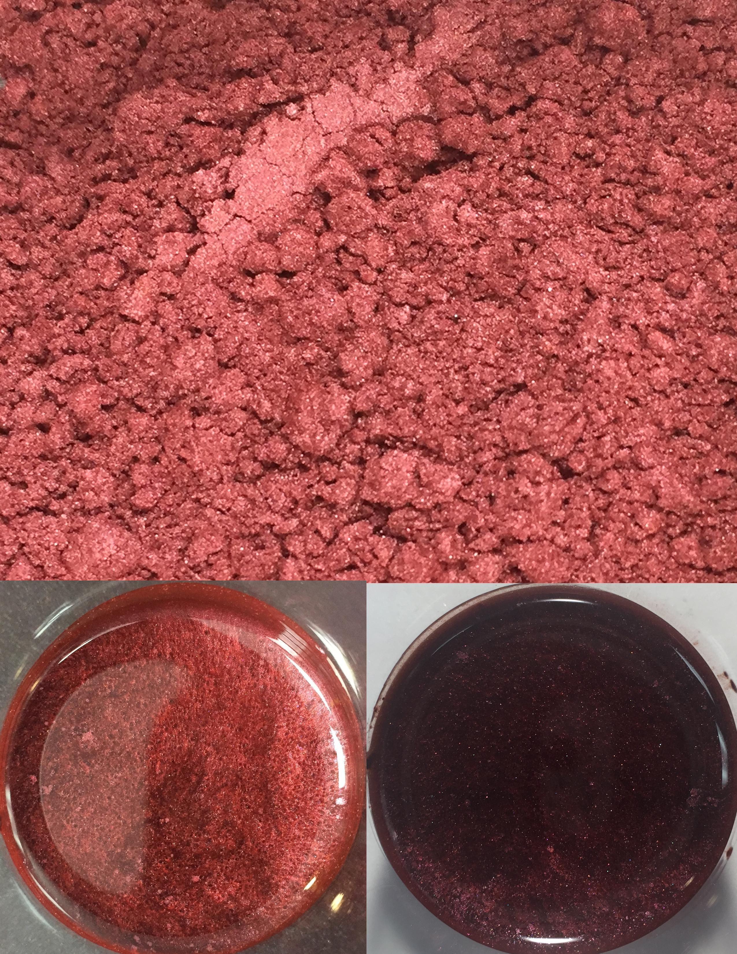 metallic pigments dark cherry/pigments métalliques cerise noire 00033