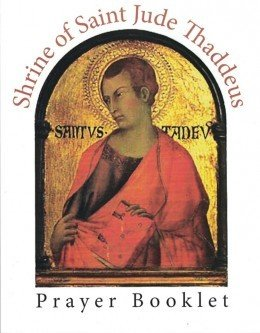 Official St. Jude Prayer Booklet (English)