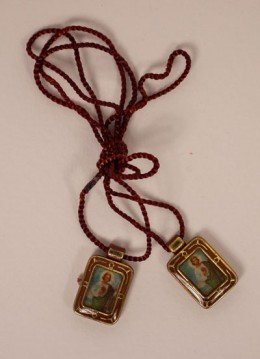 St. Jude Scapular, Brown