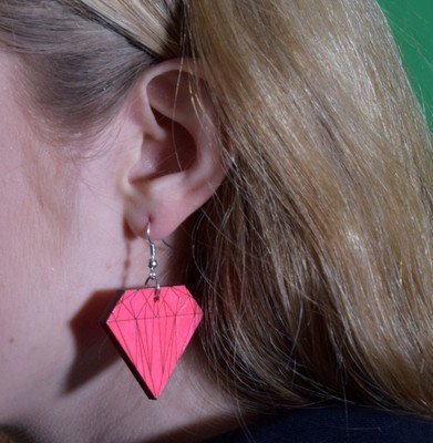 SHINE LIKA A DIAMOND EARRINGS
