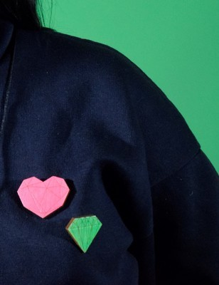 SHOW YOUR HEART PINS
