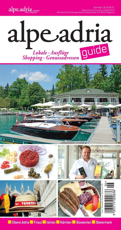 Alpe Adria Guide Printausgabe neu ab Juni 2018