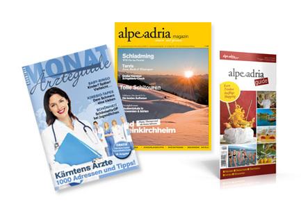 Alpe Adria Magazin EU-Kombiabo (AAM + Kärntner MONAT)