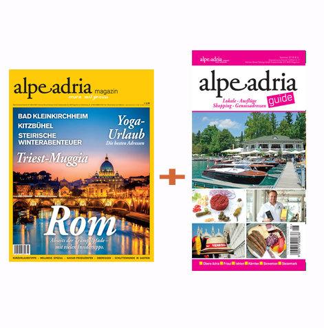 Alpe Adria Magazin & Alpe Adria Guide Jahresabo Print