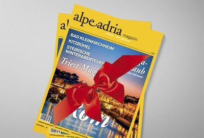 Alpe Adria Magazin & Alpe Adria Guide Geschenks-Jahresabo Print