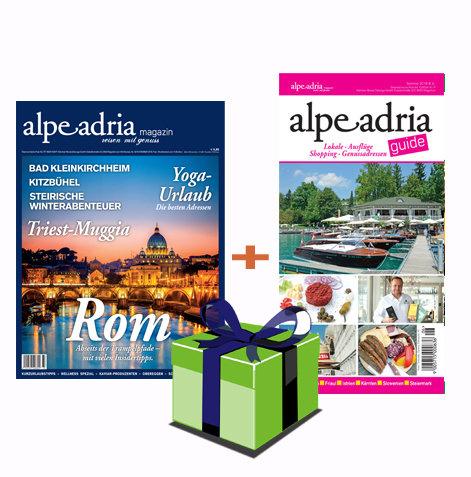 Alpe Adria Magazin (Dtl.) & Alpe Adria Guide Geschenks-Jahresabo Print 00147