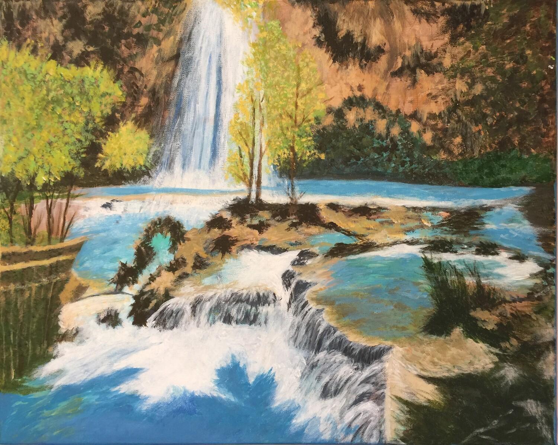 Print 11x17 - Falls by Victoria Chan