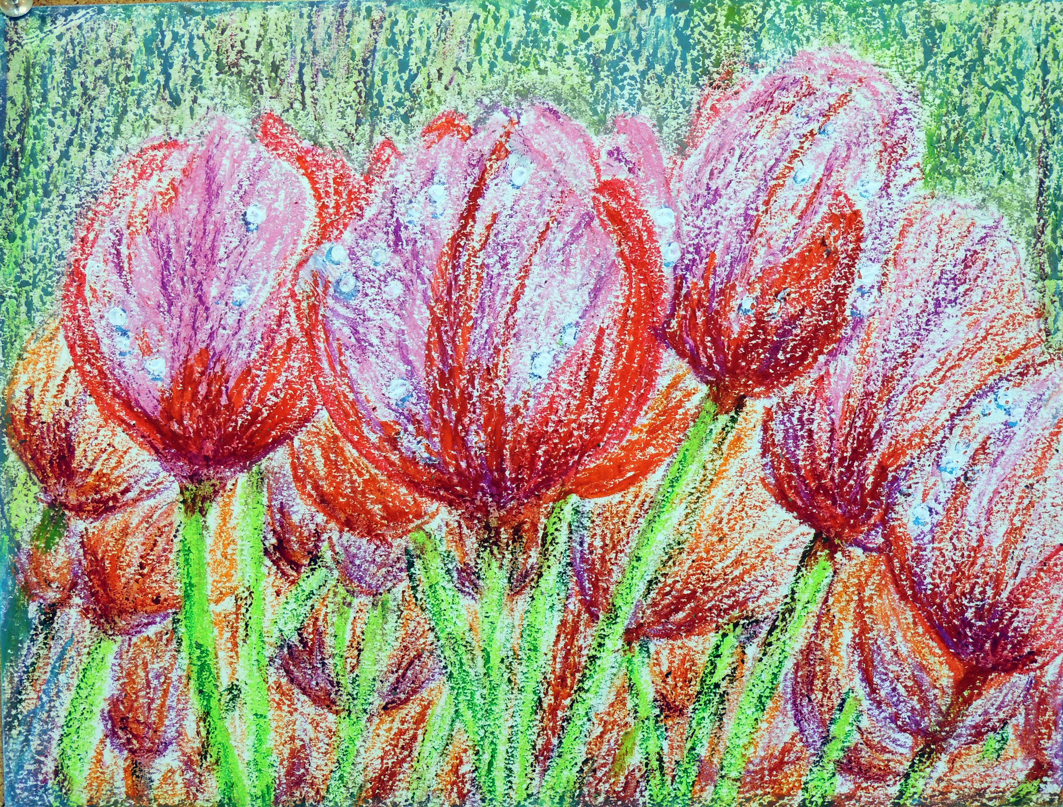"""Art - Yuan, Zhen Zhen """"Tulips"""" 00044"""