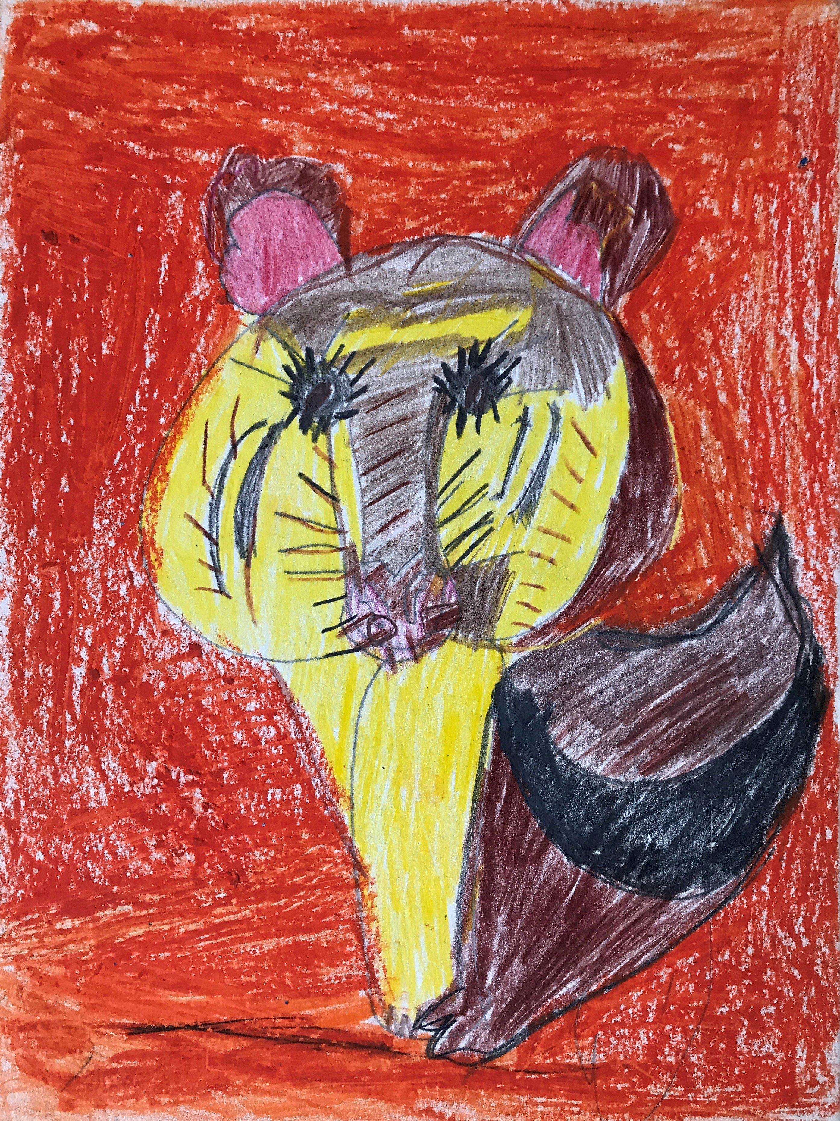 "Art - Melendez, Sara - ""Fearless Fox"" 00050"