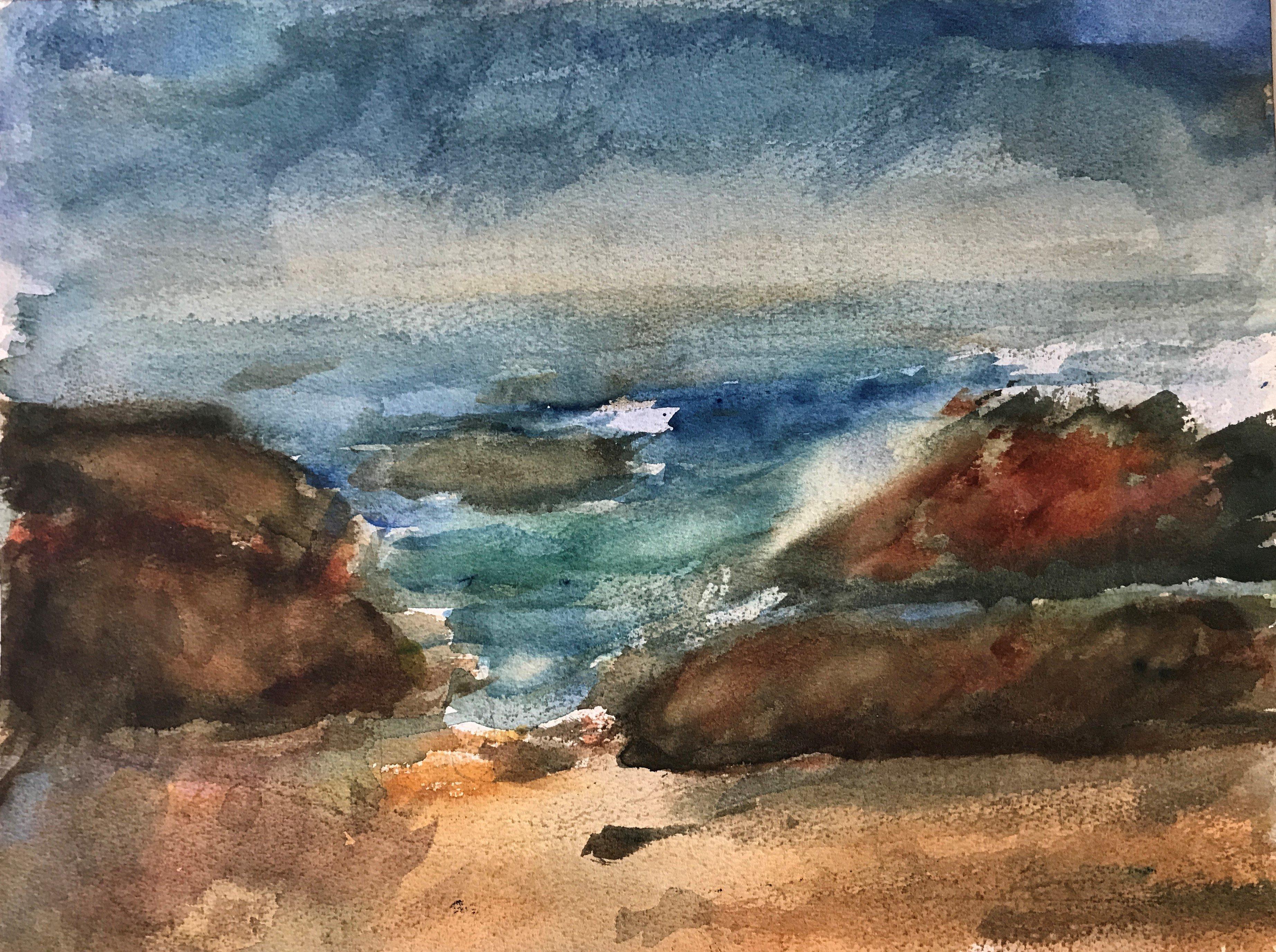 "Art - Nelson, Bob - ""California Beach"" 00053"